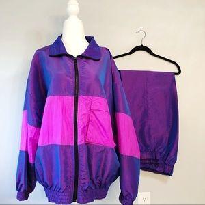 Vintage 80's Track Suit